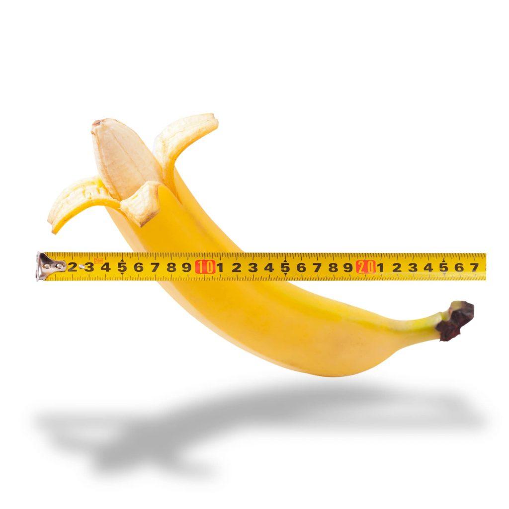 Penislänge Banane